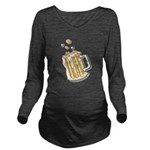 beer.png Long Sleeve Maternity T-Shirt