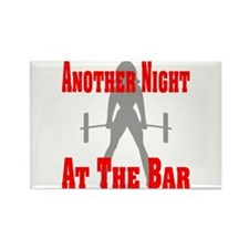 Another Night At The Bar Rectangle Magnet