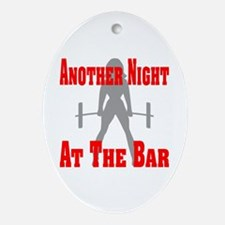 Another Night At The Bar Ornament (Oval)