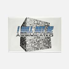 Borg cube Rectangle Magnet