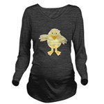baby girl easter chick.png Long Sleeve Maternity T