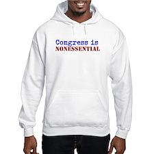 Congress is Nonessential Hoodie