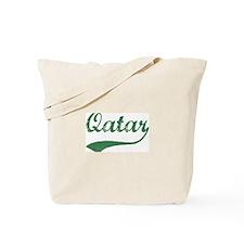 Vintage Qatar (Green) Tote Bag