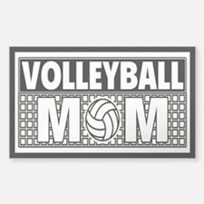 Volleyball Mom 3X5 Decal Decal
