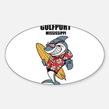 Gulfport, Mississippi Decal