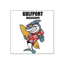 Gulfport, Mississippi Sticker