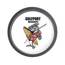Gulfport, Mississippi Wall Clock