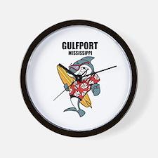 Gulfport, Mississippi Wall Clock