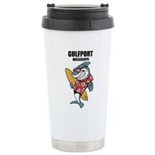 Gulfport, Mississippi Travel Mug