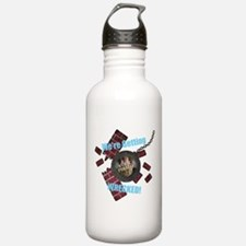 Wrecking Ball CUSTOM TEXT n PHOTO Water Bottle