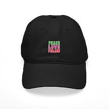 Peace Love Finland Baseball Hat