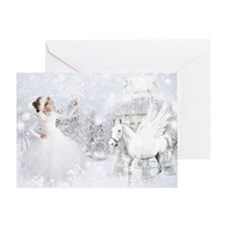 The Snow Flake Catcher Greeting Card