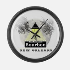 New Orleans Full Moon Large Wall Clock