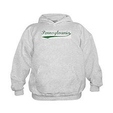 Vintage Pennsylvania (Green) Hoodie