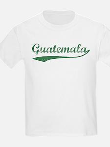 Vintage Guatemala (Green) Kids T-Shirt