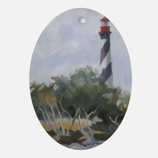 St. Augustine Lighthouse Ornament (Oval)