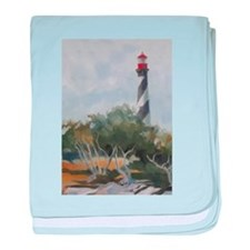 St. Augustine Lighthouse baby blanket