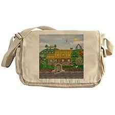 Irish River Cottage Messenger Bag