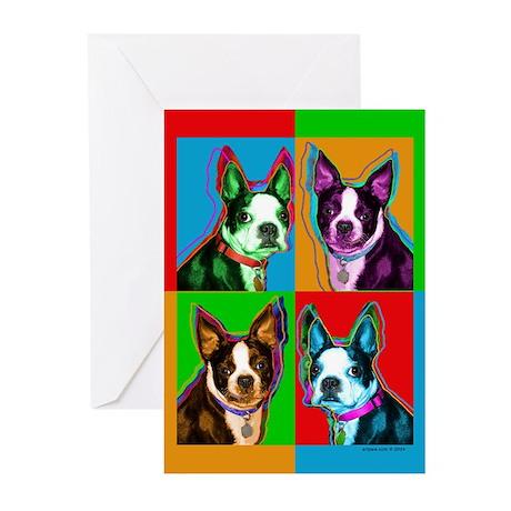Boston Terrier Cards (6)