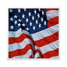American Flag square Queen Duvet