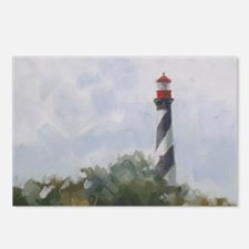 St. Augustine Lighthouse Postcards (Package of 8)