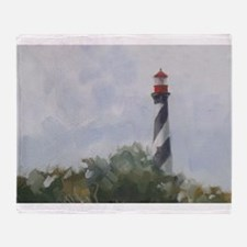 St. Augustine Lighthouse Throw Blanket