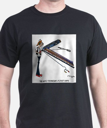 The Audio Tech's Pocket Knife T-Shirt