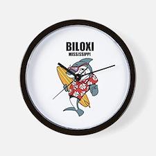Biloxi, Mississippi Wall Clock