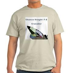F-8 Crusader Ash Grey T-Shirt