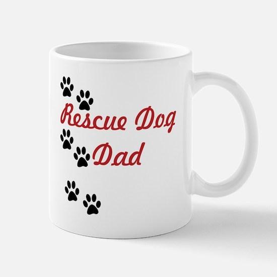 Rescue Dog Dad Mug