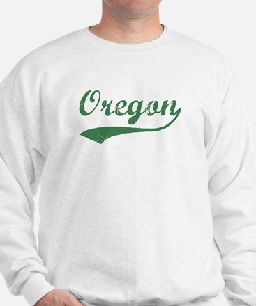 Vintage Oregon (Green) Sweatshirt