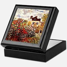 Cool Impressionism Keepsake Box