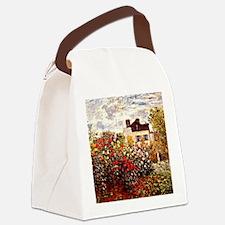 Funny Claude monet art Canvas Lunch Bag