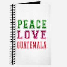 Peace Love Guatemala Journal