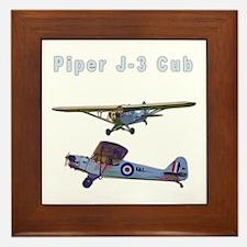 Piper J-3 Cub Framed Tile