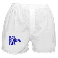 Best Grandpa Ever Boxer Shorts