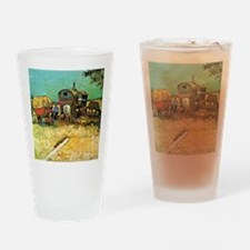 Van Gogh: Encampment of Gypsies wit Drinking Glass