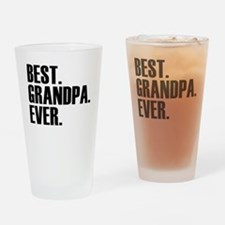 Best Grandpa Ever Drinking Glass