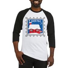 North Pole Stamp Baseball Jersey