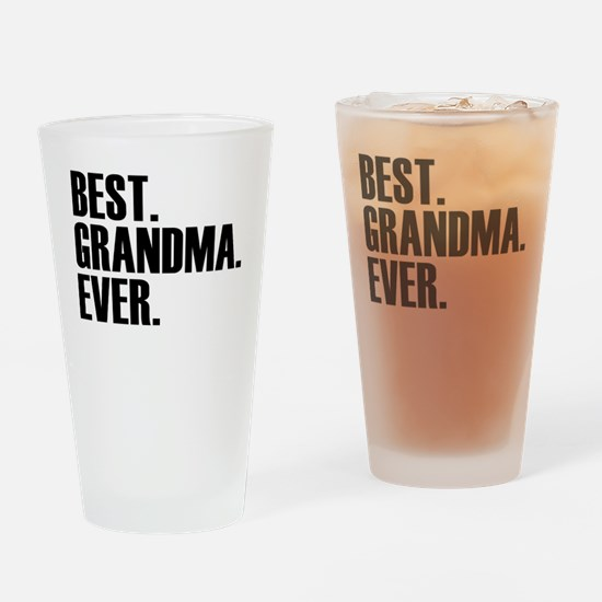 Best Grandma Ever Drinking Glass