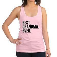Best Grandma Ever Racerback Tank Top
