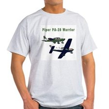 Piper Warrior Ash Grey T-Shirt