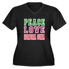 Peace Love EQUATORIAL GUINEA Women's Plus Size V-N