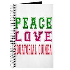 Peace Love EQUATORIAL GUINEA Journal