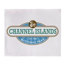 Channel Islands National Park Throw Blanket