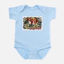 Beagle Easter Spring Victorian Infant Bodysuit