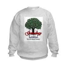 It's All About Family Sweatshirt