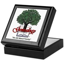 It's All About Family Keepsake Box