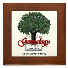 It's All About Family Framed Tile