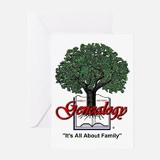 It's All About Family Greeting Cards (Pk of 10)